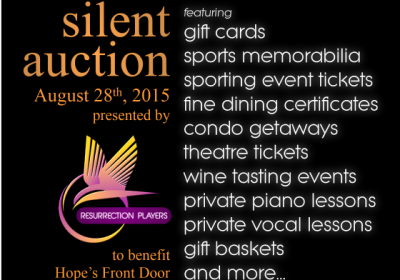 silent auction promo