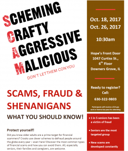 Workshop to Help Seniors Avoid Scams