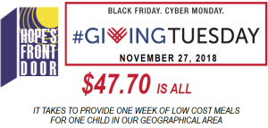#GivingTuesday: Donate the Gift of Healthy Meals…and Possibly Win Blackhawk Tickets!!