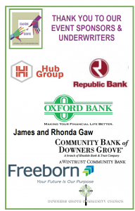 Thank you to our Hands of Hope Luncheon Sponsors & Underwriters!
