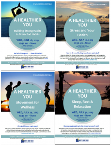 A Healthier You Round-Table Series