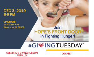 CELEBRATE GIVING TUESDAY WITH US!