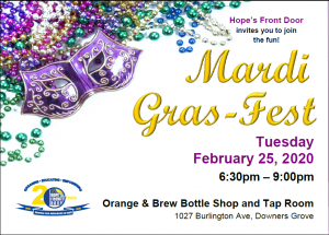 Join Us For Mardi Gras and Craft Beer Fun!