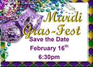 Save the Date! Mardi Gras Virtual Fest!