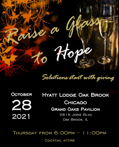 Join Us: Raise a Glass to Hope October 28th Fundraiser!